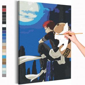 Гаара / Наруто Аниме Раскраска картина по номерам на холсте AAAA-ANI049