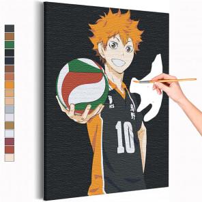 Хината Волейбол Аниме Раскраска картина по номерам на холсте AAAA-ANI021