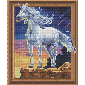 Звездный единорог Алмазная вышивка мозаика Color Kit TSGJ1060