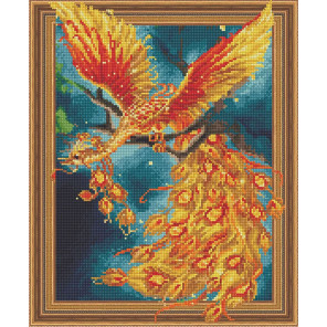 Жар-птица Алмазная вышивка мозаика Color Kit