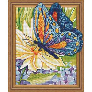 Бабочка и цветок Алмазная вышивка мозаика TSGJ1286