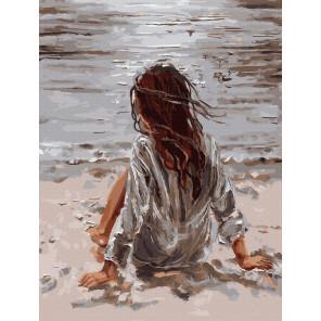 На берегу Картина по номерам Molly KK0692