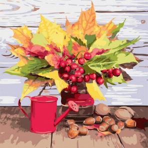 Осенний букет Картина по номерам Molly KH1084
