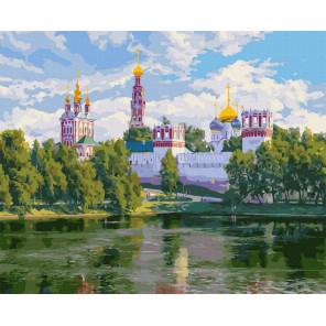 Новодевичий монастырь (Басов С.) Картина по номерам Molly KK0704