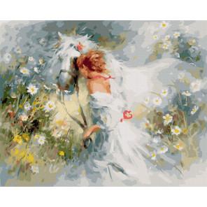 Белый сон (Хаерантс В.) Картина по номерам Molly KK0712