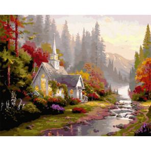 Дом мечты Картина по номерам Molly KK0716