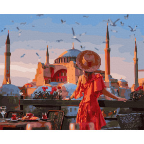 Стамбул. Айя-софия Картина по номерам Molly KK0718