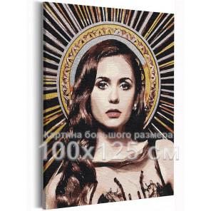 Елена Дневники вампира 100х125 см Раскраска картина по номерам на холсте с металлической краской AAAA-RS368-100x125
