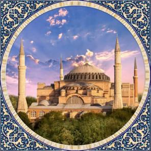 Мечеть Айя София в Стамбуле Алмазная вышивка мозаика АЖ-1927