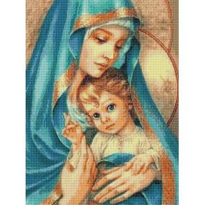 Материнская нежность Алмазная вышивка мозаика QR200001