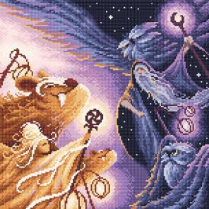 День и ночь Алмазная вышивка мозаика Brilliart МС-085