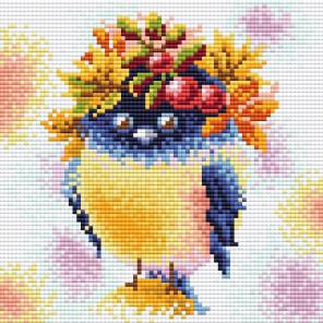 Осенняя пташка Алмазная вышивка мозаика Brilliart МС-091