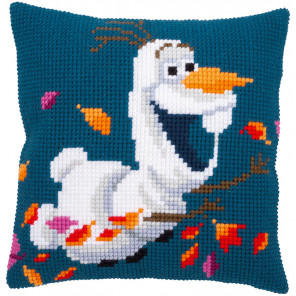 Холодное сердце. Олаф Набор для вышивания подушки Vervaco PN-0182776