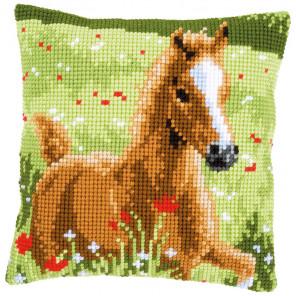Жеребенок Набор для вышивания подушки Vervaco PN-0157427