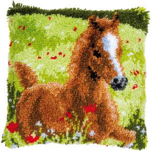 Резвый жеребенок Набор для вышивания подушки Vervaco PN-0178754