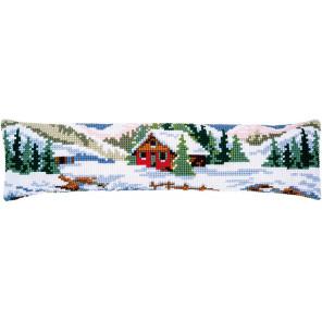 Зимний пейзаж Набор для вышивания подушки Vervaco PN-0188593