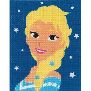 FROZEN Эльза Набор для вышивания подушки Vervaco PN-0167688