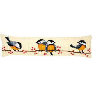 Синицы Набор для вышивания подушки Vervaco PN-0187904
