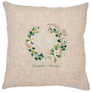 Любовь Набор для вышивания подушки Vervaco PN-0185141