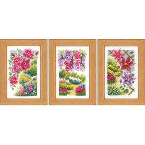 В моем саду Набор для вышивания Vervaco PN-0185068