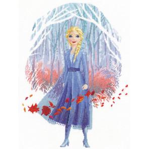 Холодное сердце. Эльза Набор для вышивания Vervaco PN-0182572