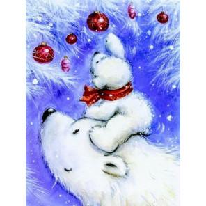 Большая медведица Алмазная вышивка мозаика на подрамнике LE125