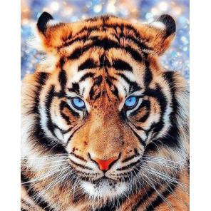 Взгляд тигра Алмазная вышивка мозаика на подрамнике LG297