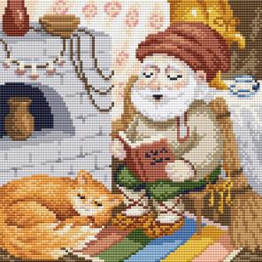 Хозяин дома Алмазная вышивка мозаика Brilliart