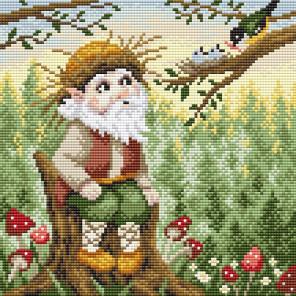 Хозяин леса Алмазная вышивка мозаика Brilliart