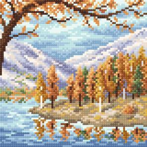 Походная осень Алмазная вышивка мозаика Brilliart