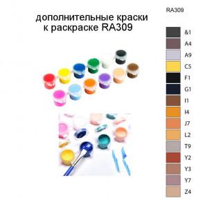 Дополнительные краски для раскраски RA309