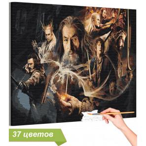 Властелин колец / Фэнтези Раскраска картина по номерам на холсте AAAA-RS043