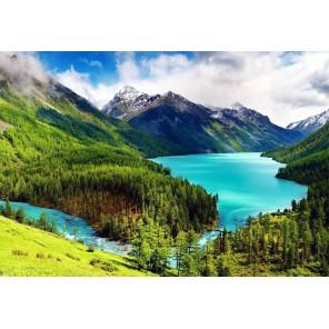 Горный пейзаж Алмазная вышивка (мозаика) Гранни