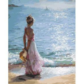 Утренняя прогулка Раскраска ( картина ) по номерам акриловыми красками на холсте Белоснежка