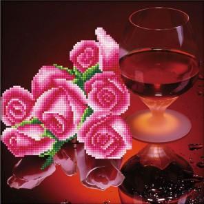 Романтический вечер Алмазная частичная вышивка (мозаика) Color Kit