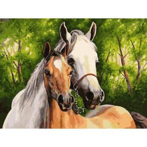 Мать и дитя Раскраска ( картина ) по номерам акриловыми красками на холсте Белоснежка