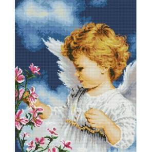 Малютка ангел Алмазная вышивка (мозаика) Белоснежка