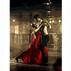Аргентинское танго Раскраска по номерам акриловыми красками на холсте Живопись по номерам (Paintboy)