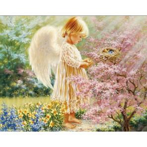 Маленький ангел Алмазная вышивка мозаика Гранни