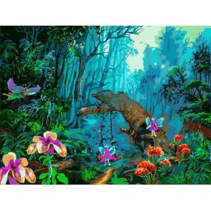 Сказка Раскраска картина по номерам акриловыми красками на холсте Белоснежка