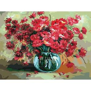 Праздничный букет Раскраска картина по номерам акриловыми красками на холсте Белоснежка