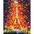 Париж - огни Эйфелевой башни Алмазная вышивка мозаика Белоснежка