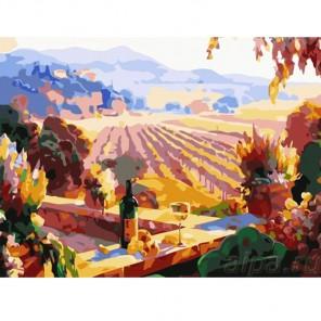 Пейзаж Тосканы Раскраска картина по номерам акриловыми красками Color Kit