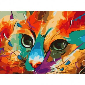 Арт-Кот Раскраска картина по номерам акриловыми красками Color Kit