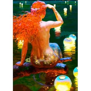 В ожидании принца Раскраска картина по номерам акриловыми красками Color Kit