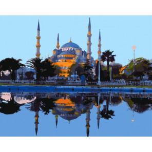 Мечеть Раскраска картина по номерам акриловыми красками на холсте | Картина по номерам купить
