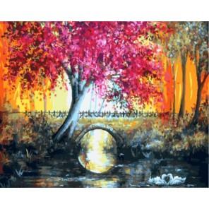 Волшебная осень Раскраска картина по номерам акриловыми красками на холсте | Картина по номерам купить