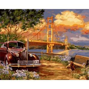 Ретро лето Раскраска картина по номерам акриловыми красками на холсте   Картина по номерам купить