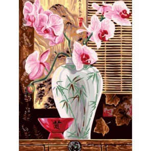 Восточная ваза Раскраска картина по номерам акриловыми красками на холсте | Картина по цифрам купить