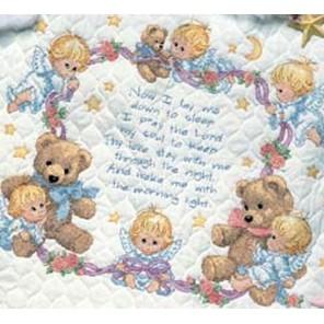 Одеяльце Молитва на ночь 03194 Набор для вышивания Dimensions ( Дименшенс )